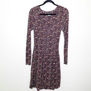 Peruvian Connection Floral Long Sleeve Dress